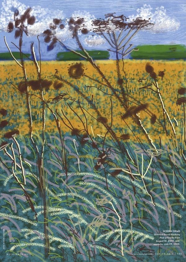 David Hockney ipad artworks.