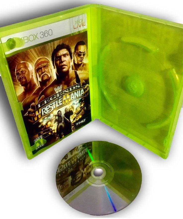 WWE Legends of WrestleMania - Microsoft Xbox 360 - XBOX LIVE