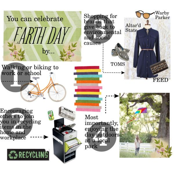 """How to Celebrate Earth Day"" by asebourn on Polyvore"