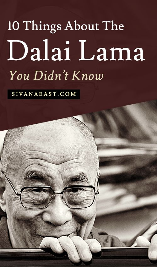 10 Things About The Dalai Lama You Didn't Know