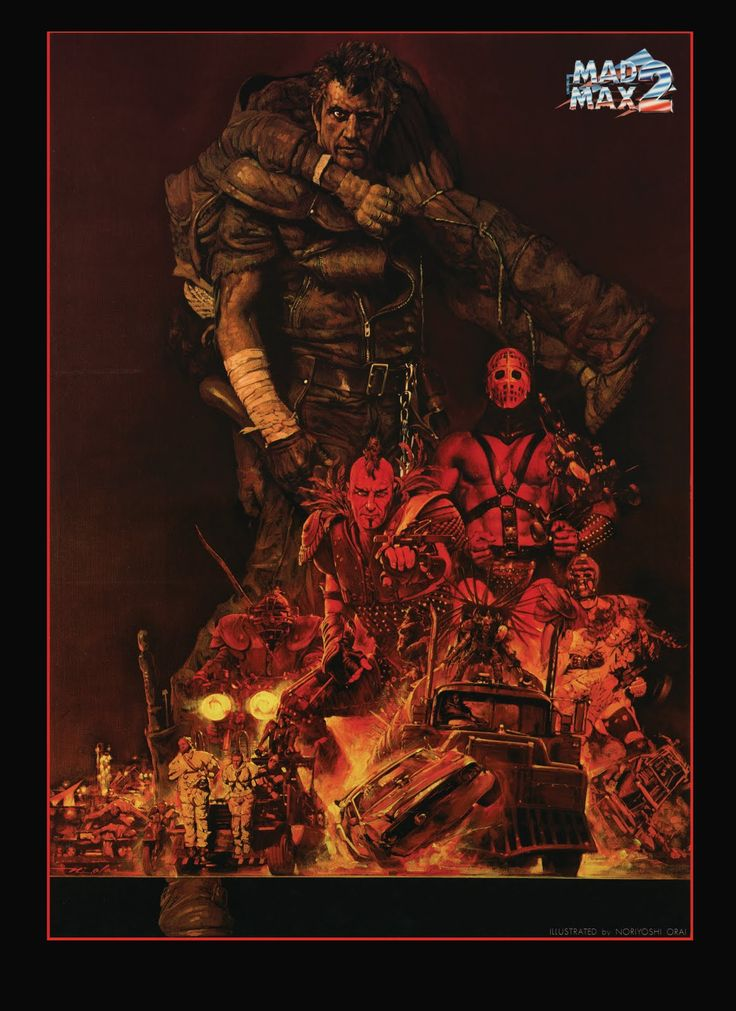 Mad Max 2: The Road Warrior - movie poster