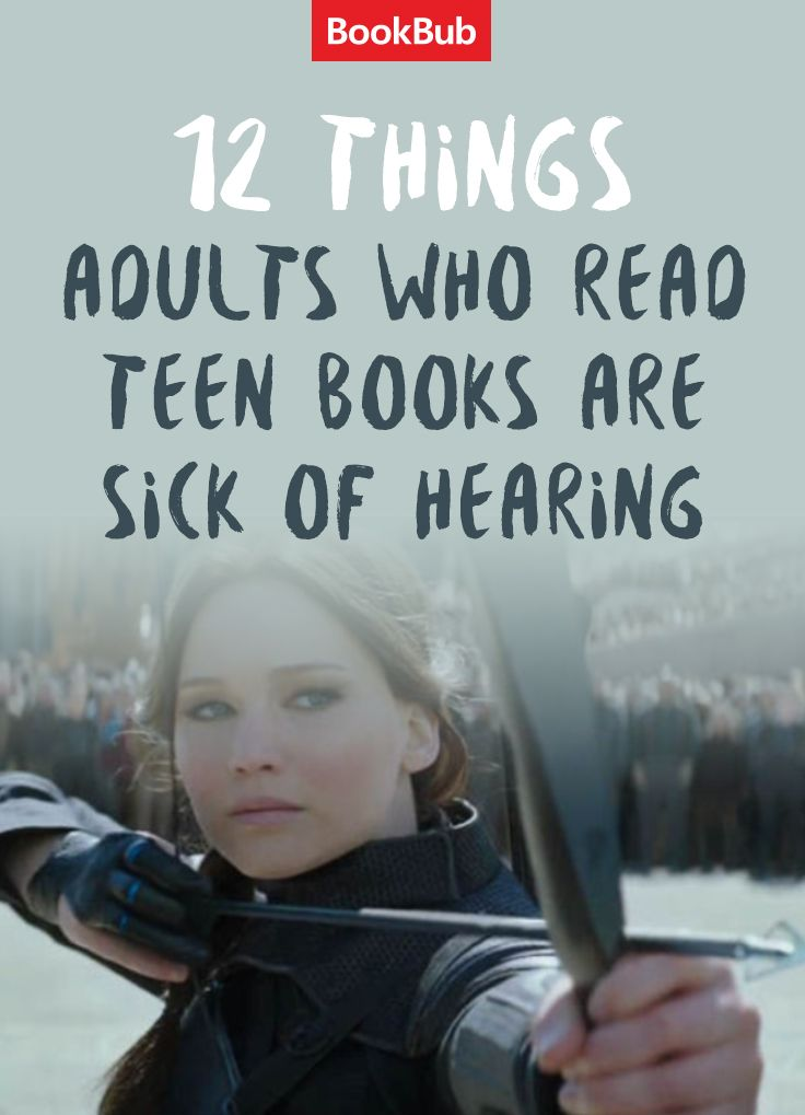 YA books may be geared towards teen readers, but that doesn't mean adults can't enjoy them! The Hunger Games, Divergent, and John Green's The Fault in Our Stars are all great examples of popular teen books! Here are Things Adults Who Read Teen Books Are Tired of Hearing.