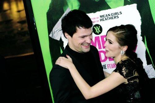 Zoey Deutch and Danila Kozlovsky at Vampire Academy ...