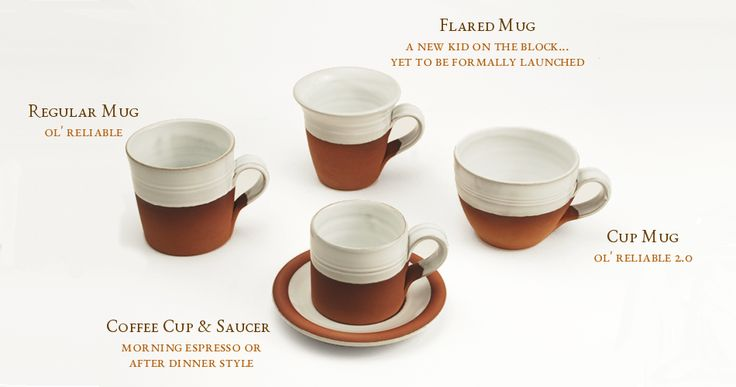 The Classic Range: Cups and Mugs