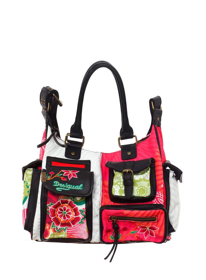 DESIGUAL Bag LONDON FLOREADA - 41,30€ : Fashion Monicapecado