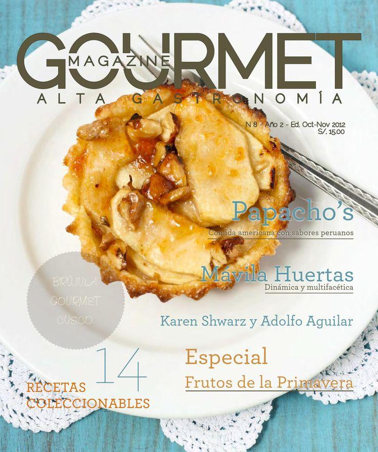 revista de alta cocina Gourmet