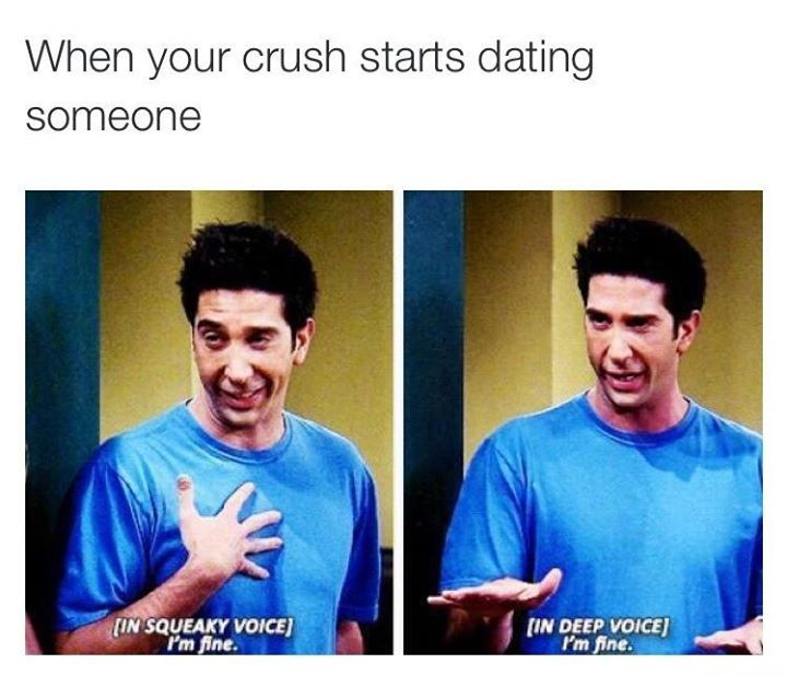 What if your crush is dating someone else