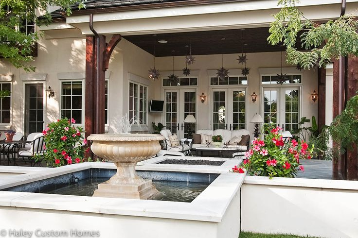Single Story French Country Google Search New House Pinterest Outdoor Living Doors And
