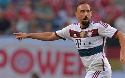 Scarica sfondi Franck Ribery, il Bayern Monaco, Calcio, Germania, Bundesliga