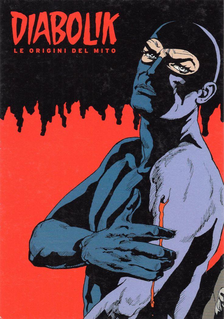 """PROMOCARD n. 7860 2008 - """"Diabolik le origini del mito"""""""
