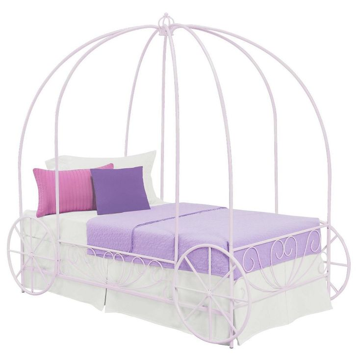 Best 25 Carriage bed ideas on Pinterest Disney princess carriage bed  Cinderella carriage bed and Childrens. Purple Sleigh Dhp Beds   education photography com