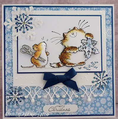 Penny Black winter card