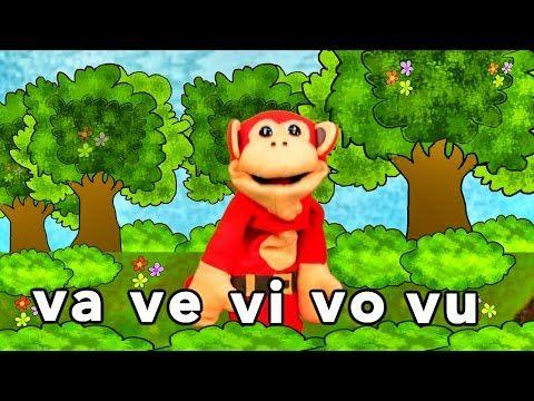 Sílabas ja je ji jo ju - El Mono Sílabo - Videos Infantiles - Educación para Niños # - YouTube