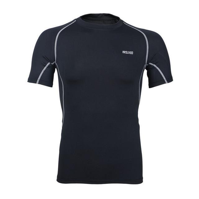 Men's Cycling Clothing Bike Sportswear Short Sleeve Shirt Quick-Dry Cycling Jersey