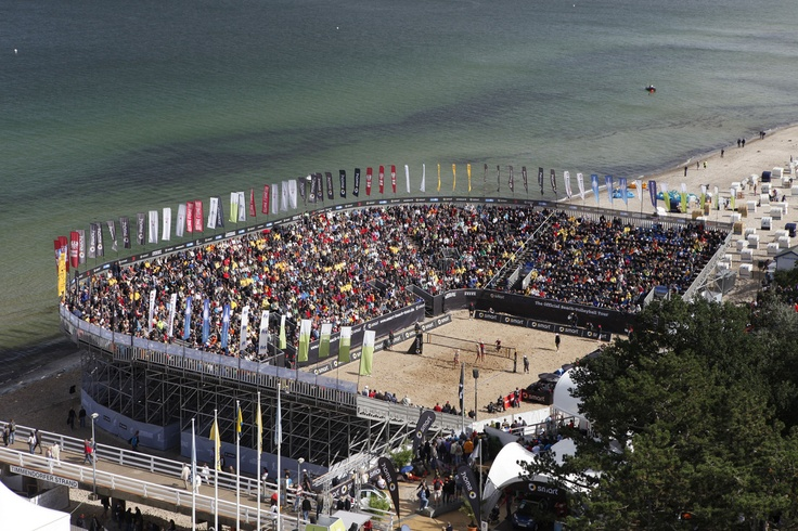 Germany. Check out this German beach volleyball championship.