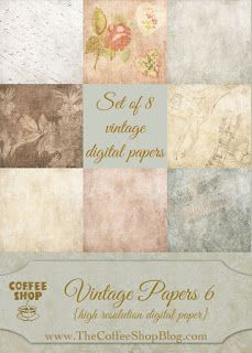 """Wednesday's Guest Freebies ~ The Coffee Shop Blog ✿ Join 6,600 others. Follow the Free Digital Scrapbook board for daily freebies. Visit GrannyEnchanted.Com for thousands of digital scrapbook freebies. ✿ """"Free Digital Scrapbook Board"""" URL: https://www.pinterest.com/grannyenchanted/free-digital-scrapbook/"""