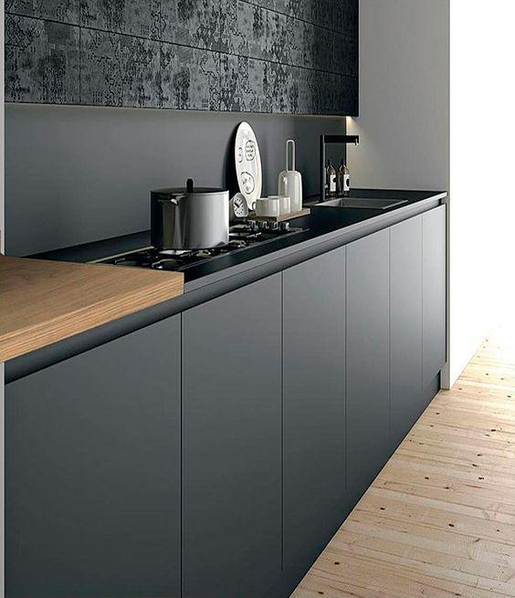 Black Kitchen Cabinet Doors: 25+ Best Ideas About Grey Cabinets On Pinterest