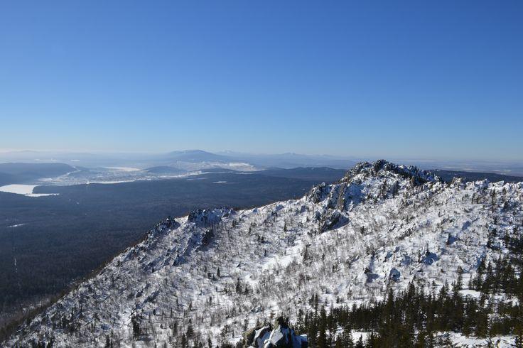 beautiful sight from the Dvuglavaya hill