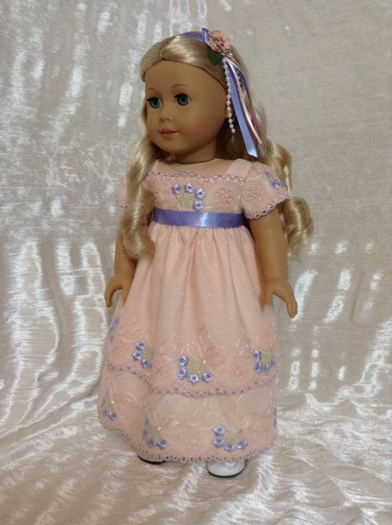 RESERVED peach lace dress for caroline