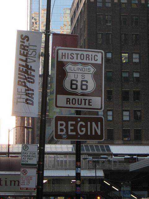 Route 66 by Andrew T..., via Flickr