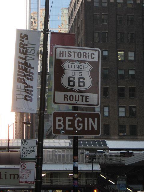 Begin - Route 66.