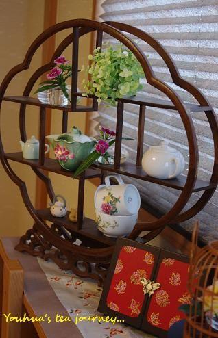 シノワズリ風お茶会 - お茶はいったよッ♪