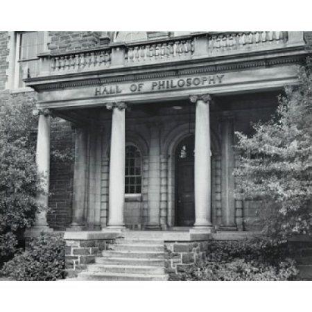 Facade of a university building Hamilton College Clinton New York City USA Canvas Art - (18 x 24)