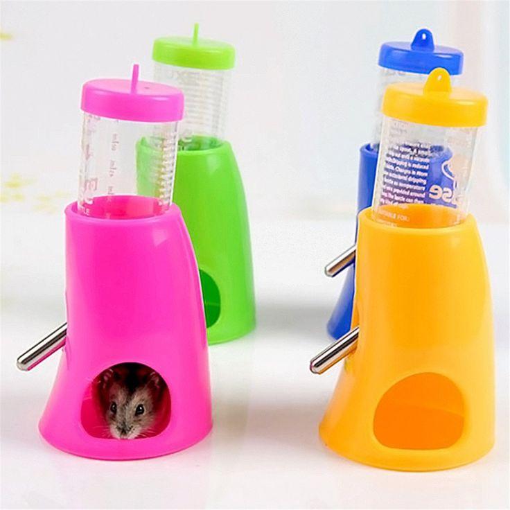 2 in 1 Hamster Water Bottle Dispenser House - EverythingHamsters