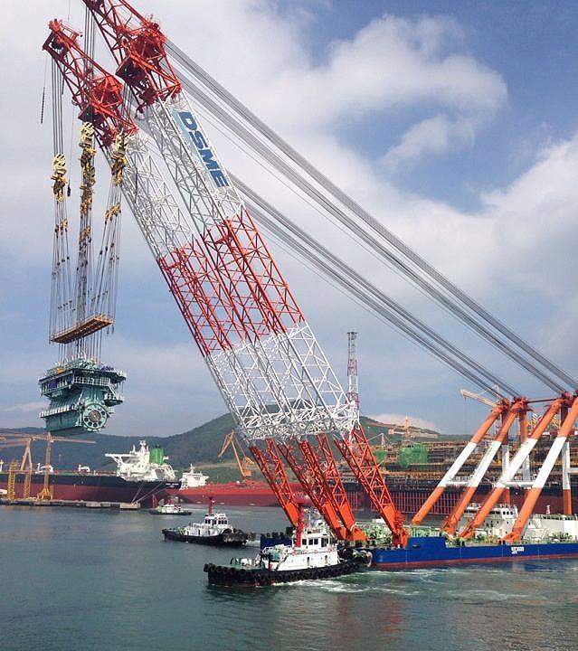 Daewoo shipbuilding & marine engineering