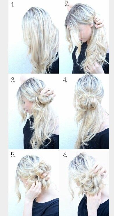 More easy messy buns