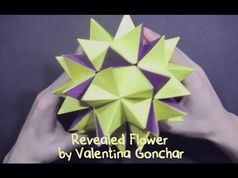 Origami Revealed Flower PopUp Star