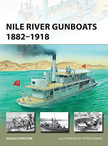 Nile River Gunboats 1882–1918 (New Vanguard):   For more than 30 years the Nile river gunboat was an indispensable tool of empire, policing the great river and acting as floating symbols of British imperial power. They participated in every significant colonial campaign in the region, from the British invasion of Egypt in 1882 to the Battle of Omdurman in 1898, when Britain finally won control of the Sudan. After that, the gunboats helped maintain British control over both Egypt and th...