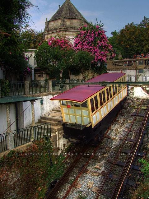 Elevador do Bom Jesus, Braga - Portugal (2) by Rui Almeida., via Flickr