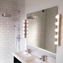Rock star ensuite bathroom: industrial Bathroom by My-Studio Ltd