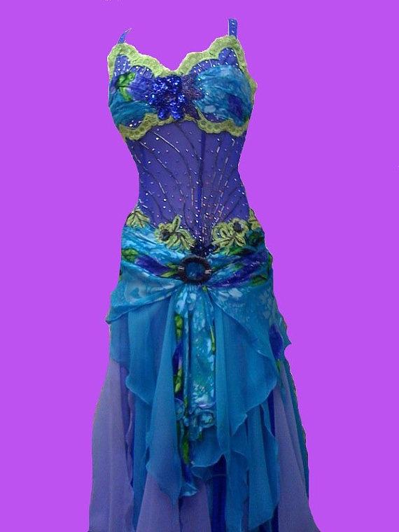 ballroom dancing dress I like the skirt gathering