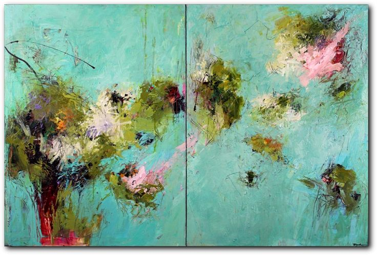 Abstract paintings, Conn Ryder, Abstract Expressionism, Colorado abstract artist