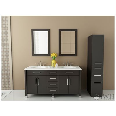 Best Deal   JWH Living Rana Bathroom Vanity In Espresso JWH 9025