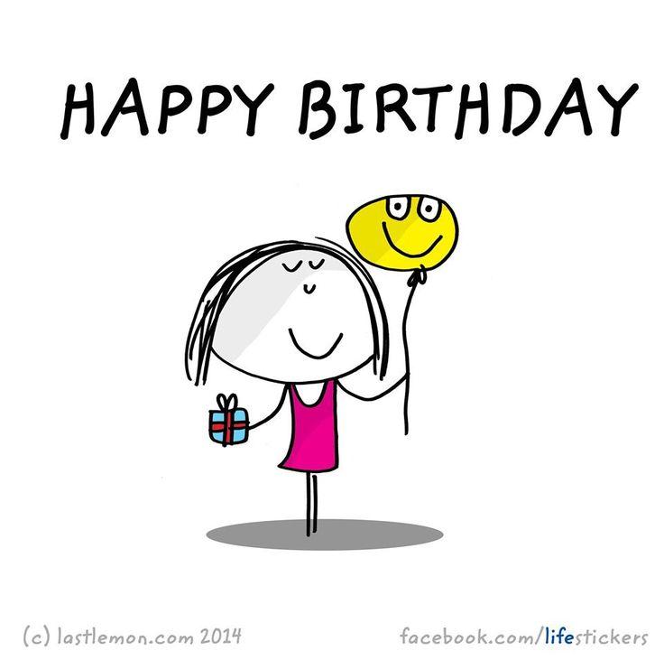 Resultado de imagen de happy birthday alone + dibujos