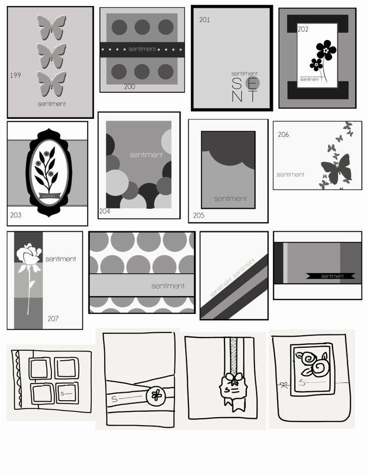 Awesome Card Making Layouts Ideas Part - 5: Lots Of Ideas For Card Layout