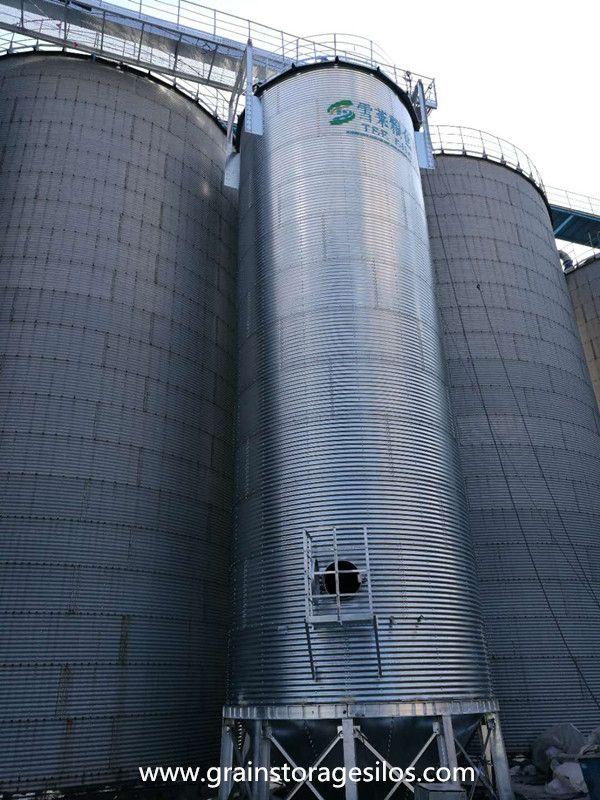 Barley Storage Silo Is Well Running In Brewery Silos Grain Storage Brewery