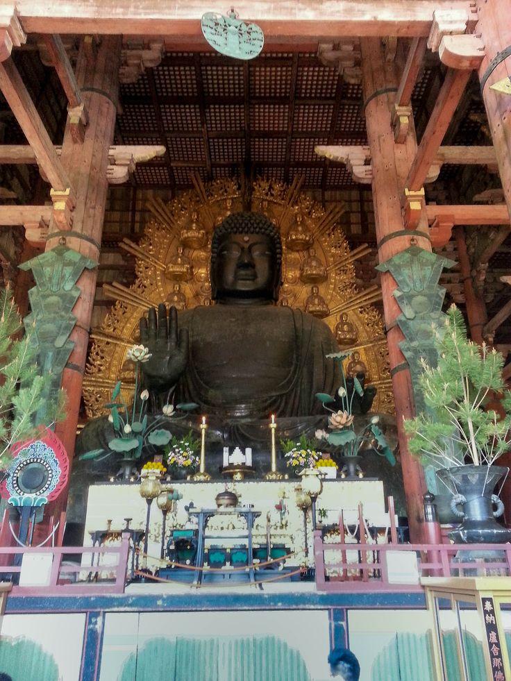 Todai-ji Temple  (東大寺) #nara, #japan #travelblog