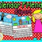 This is our VERY first clipart FREEBIE!!! There are 13 pngs (1 for each month & 2 for February). We hope you enjoy using our calendars to creat...