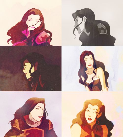 Asami is pretty cool, but I am all Makorra.