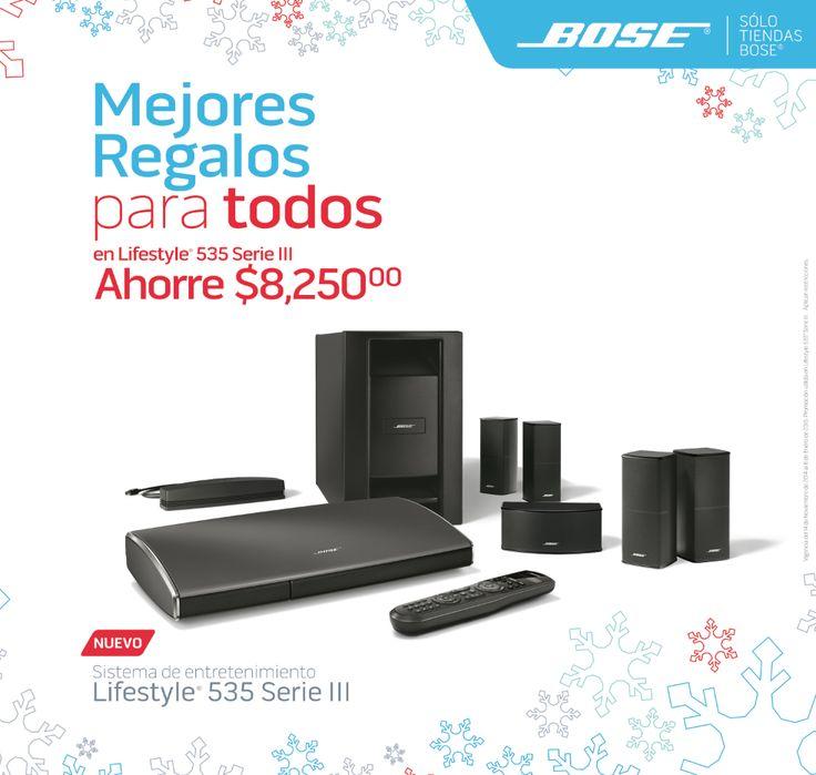 Regalos: Sistema Lifestyle® de Bose®