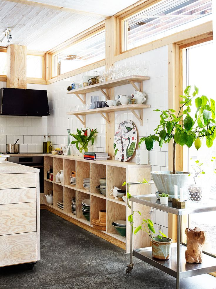 Wooden Home via Elle Decoration