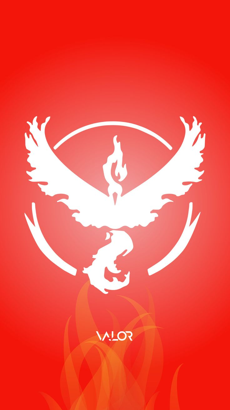 Pokemon Go: Team Valor Wallpaper - Jibraan Ahmed Khan