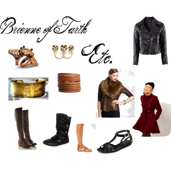 Game of Thrones fashion - Brienne of Tarth