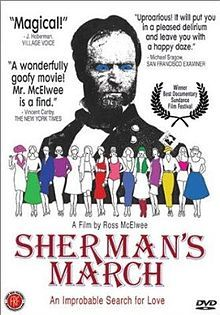 Sherman's March (1986). D: Ross McElwee. Selected in 2000. One of my all time faves. Ross McElwee is a treasure- love his films!