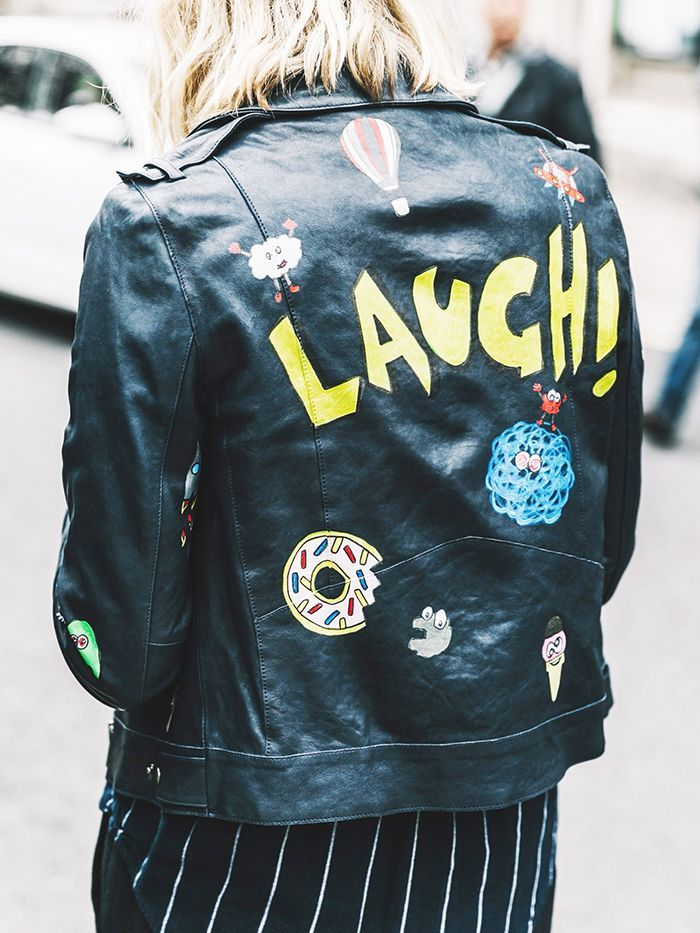Searching for the perfectly cool painted leather jacket? Then you're in luck—we've rounded up the best of the best right here.