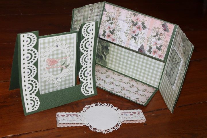 Charlottes Web Scrapbooking, Stamping & Papercraft - Easel & Folding Cards - Rachael